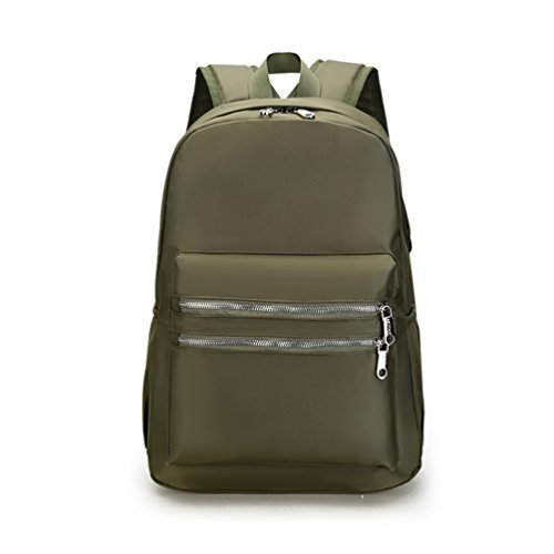 AOTIAN 7787 - Bolso mochila  para mujer rojo K-RED H-ARMYGREEN