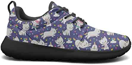 04774581d895 are The Unicorn Facts Real Horse Images Black Boy Sneakers for Men Fashion  Breathable and Lightweight