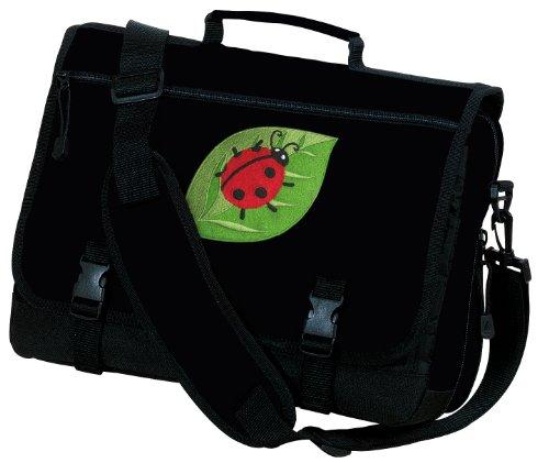 Ladybug Laptop Bag Ladybugs Computer Bag or Messenger Bag