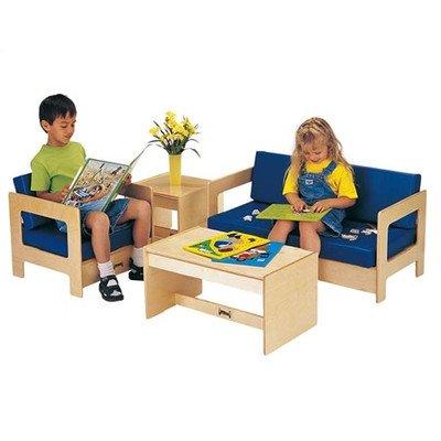 Jonti-Craft 0381TK Living Room 4 Piece Set - Blue - ThriftyKYDZ