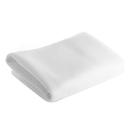 uxcell White Speaker Mesh Grill Cloth Stereo Box Fabric Dustproof Audio Cloth 100cm x 160cm 40 inches x 63 inches