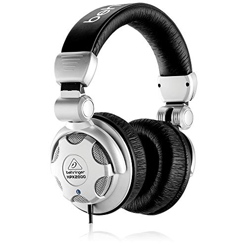 Behringer HPX2000 Headphones High-Definition DJ Headphones (Best Studio Headphones For Making Beats)
