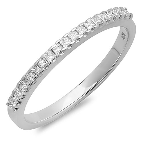 0.22 Ct Diamond Band - 3