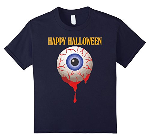Kids Halloween Eyeball Shirt Funny Trick or Treat Novelty Gift 12 (Halloween Eyeball Treats)