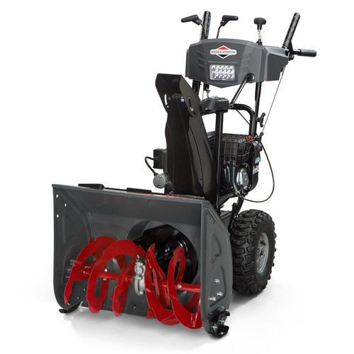 Cheapest Prices! Briggs & Stratton 1696614 Dual-Stage Snow Thrower with 208cc Engine and Electric St...