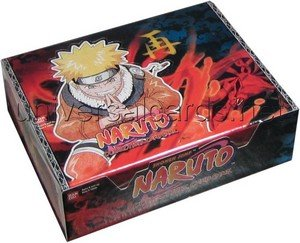 Naruto Collectible Trading Card Game Revenge & Rebirth 1st Edition Booster Bo...