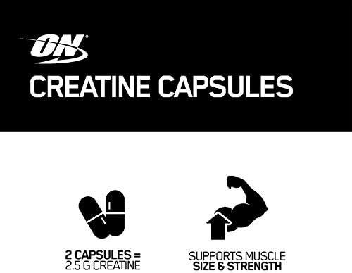 Optimum Nutrition Micronized Creatine Monohydrate Capsules, Keto Friendly, 2500mg, 300 Capsules (Packaging May Vary) 9