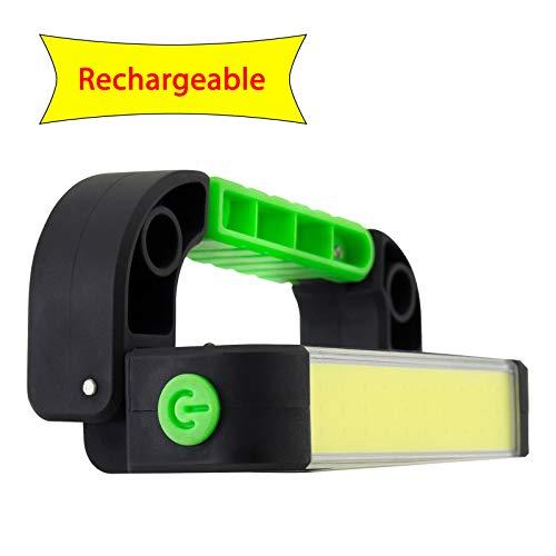 LitezAll 350 Lumen COB LED Carabiner Light w/ 2200 mAh Rechargeable Battery