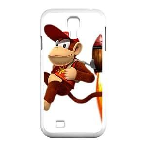 Samsung Galaxy S4 9500 Cell Phone Case White Super Smash Bros Diddy Kong OJ514879