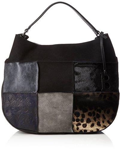 Bulaggi Women's Rustin Hobo Shoulder Bag Black (Schwarz 10)