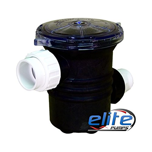 Elite Pumps ELTPP20 6 in. Priming Pot with 2 in. Unions44; 800 Series & 4500 Series