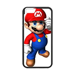 iPhone 6 Case, [Super Mario] iPhone 6 (4.7) Case Custom Durable Case Cover for iPhone6 TPU case(Laser Technology)