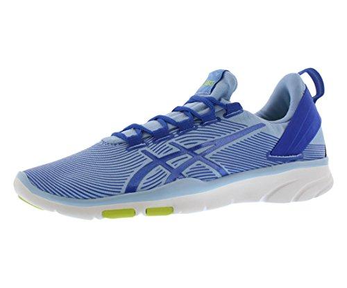ASICS Women's Gel Fit Sana 2 Fitness Shoe, Blue Bell/Blue Purple/Lime, 7.5 M US