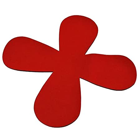 Moha Moderne Protector de neopreno Haushaltwaren AG 81510 24 cm sartén, juego de 2, rojo: Amazon.es: Hogar