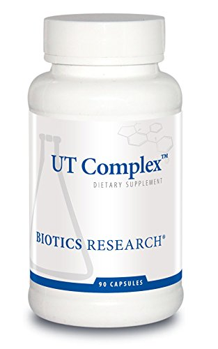 Biotics Research UT Complex– Chrysanthemum, Couch Grass, Cornsilk, Zhu Ling and Buchu Extract, Urinary Tract Support, Kidney Function, Renal Health. 90 Capsules. by BIOTICS