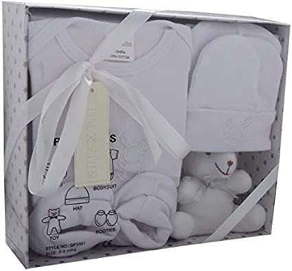 NEWBORN 6 m BABY I LOVE MUM DAD WHITE GREY BLUE PINK SOCKS 0-0 TODDLERS DOLL