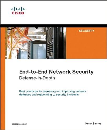 End To End Network Security Defense In Depth 1 Santos Omar Ebook Amazon Com