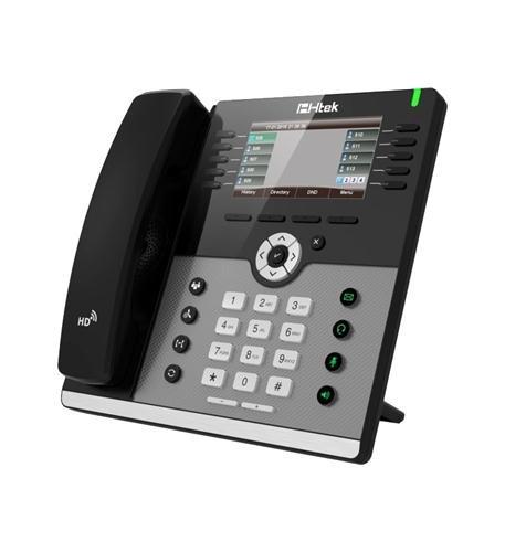 HTEK UC926 Modern Executive Color Gigabit IP Phone ()