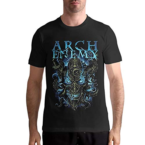 Arch Enemy T Shirt Sports Mens Tops Short Sleeve Tee L Black