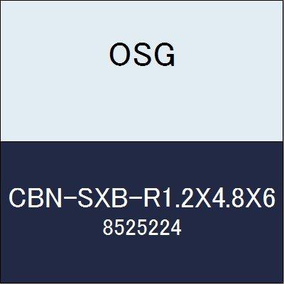 OSG エンドミル CBN-SXB-R1.2X4.8X6 商品番号 8525224