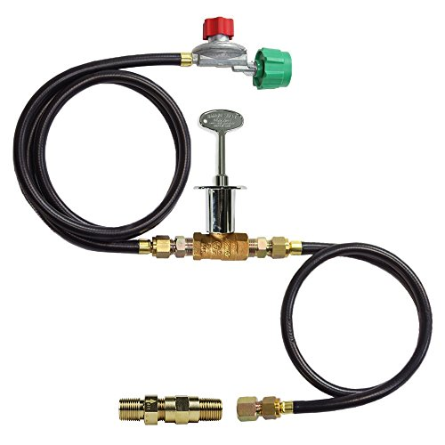 Propane Burner Connection Adjustable Regulator product image