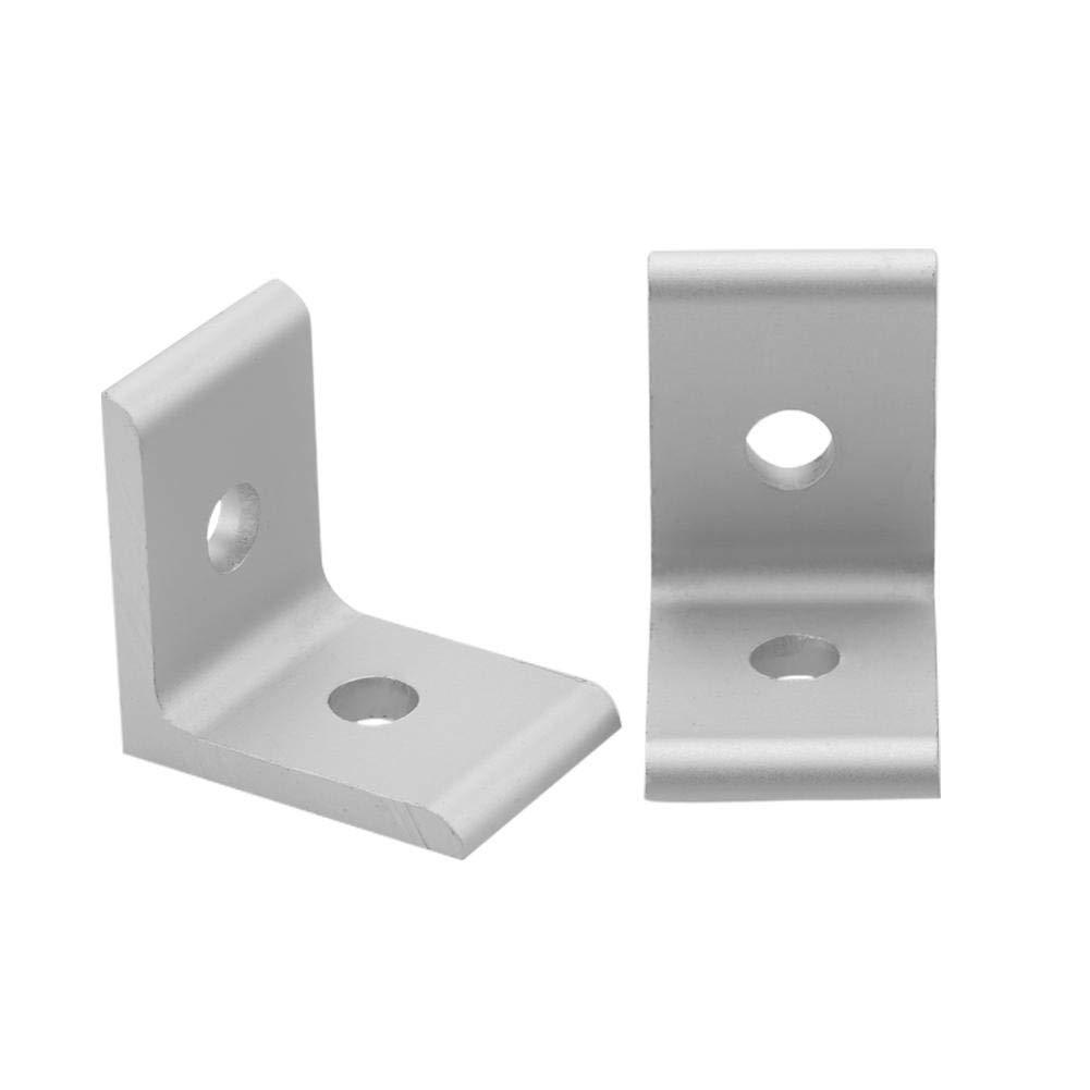 1.00V Akozon 1515 2020 3030 4040 4545 Raccord coud/é pour profil/é en aluminium