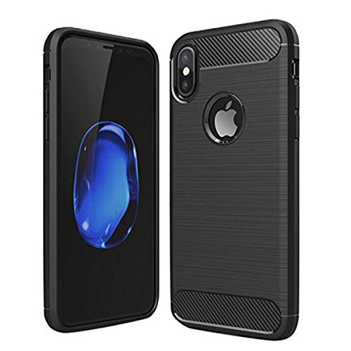 Iphone x Case, ROTUYES Soft Back Cover for Apple 5.8 Inches iPhone X, Ultra Hybrid Slim Protector Waterproof and Shockproof Soft Cover for iPhone 10(2017 Release)