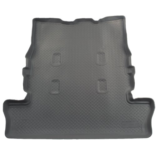 Husky Liners Custom Fit Molded Rear Cargo Liner for Select Toyota Land Cruiser/Lexus LX570 Models - Cargo Husky Custom Molded Liners
