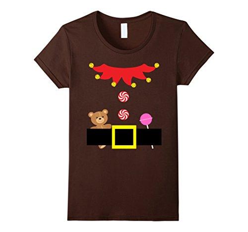 Cute Teenage Halloween Costumes Ideas (Womens Christmas Cute Elf Outfit Suit Costume Tween Teenage Girls Large Brown)