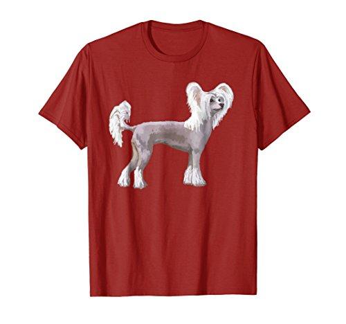 Chinese Crested Dog T-shirt Tee Tees T Shirt Tshirt