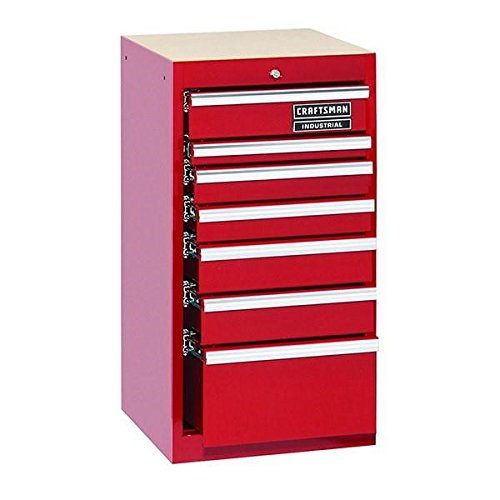 7 Drawer Side Tool Cabinet - 6