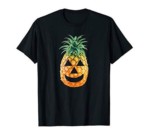 Pineapple Carving T-shirt: Halloween -