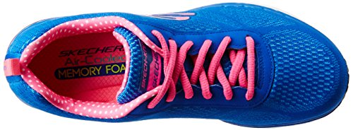 Skechers Skech-Air Infinity - zapatillas de sintético mujer Azul (bleu/rose)