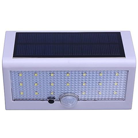 Inngree Solar Outdoor Motion Sensor wall lights, Solar Wall Lights