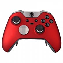 "Red ""Soft Touch"" Xbox One Elite Modded Rapid Fire Controller, Works With All Games, COD, Infinite Warfare, Destiny, Rapid Fire, Dropshot, Akimbo & More"