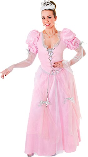Ladies Adult Panto Queen Fancy Party Outfit Fairytale Princess Cinderella Dress (Fairy Tale Outfits For Adults)