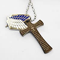 "cosplay? Attack on Titan ""Alas de Libertad"" Collar"
