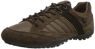 Geox Uomo Snake B, Zapatillas para Hombre, Braun (CIGARC6007), 39 EU