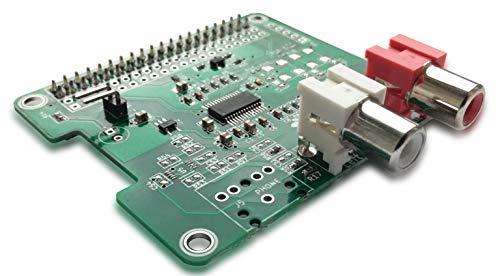 HiFiBerry DAC+ standaard RCA-versie – geluidskaart voor Raspberry Pi met RCA-aansluitingen