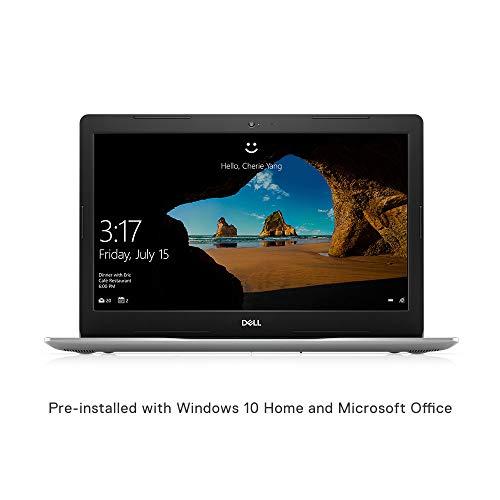 Dell Inspiron 3585 15.6 Inch HD Laptop (AMD Ryzen 5-2500U / 4GB RAM / 1TB HDD / Windows 10 Home + MS Office / Vega 3 Graphics/Silver/2.2 Kg)