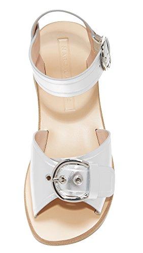 Flat Sandal Jacobs Silver Women's Marc Horizon 1zAfwRBq