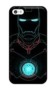 AlYhOHV9658YDsyO Case Cover Protector For Iphone 5/5s Iron Man Case