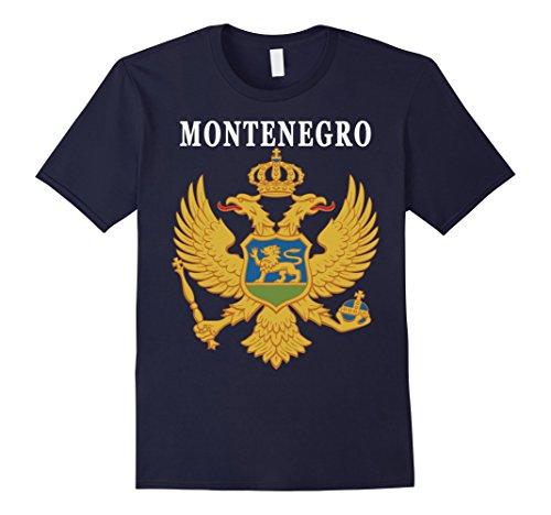 Mens Montenegro Athletic Heritage T-shirt 2XL Navy