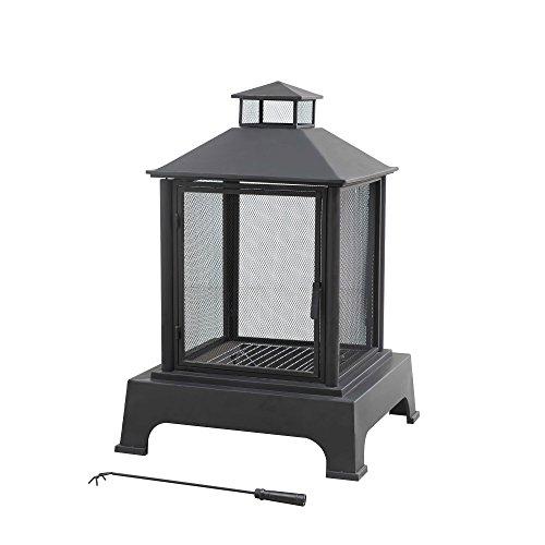 Sunjoy 110503005 Outdoor Fire Place