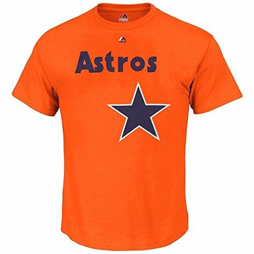 Houston Astros Craig Biggio MLB Retired Player Jersey T-Shirt MAJESTIC