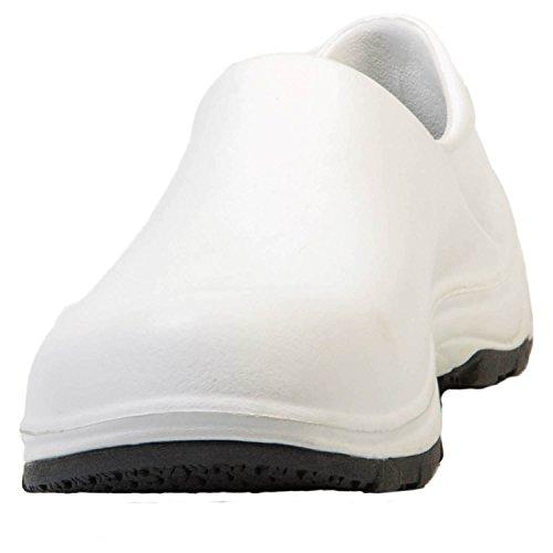 Dawgs Damessleep Pro Slipvrije Werkschoen Wit / Zwart