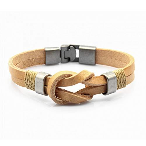 KKTOOL Charm Bracelets & Bangles Alloy Multilayer Bracelet Jewelry for Women Men Gift ()