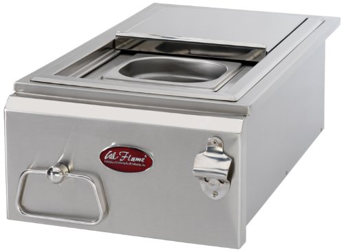 Freestanding Natural Gas Grill - Cal Flame BBQ07842P-12 12-Inch Cocktail Center