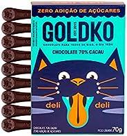 Chocolate Deli Deli 70% Cacau Zero adição de açúcares70G