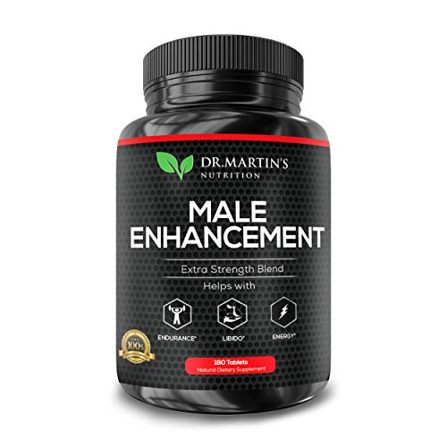 - Male Enhancement Supplement | 180 Capsules | 3 Month Supply | Boosts Energy, Testosterone, Endurance & Enhances Muscle Growth | with Gingseng, Maca, Tongkat Ali | Healthy Weight Loss and Fat Burning
